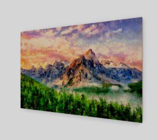 Artwork - Mountain Lake preview