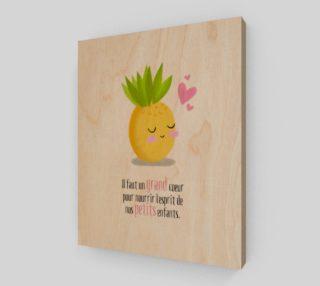 Aperçu de Affiche Ananas