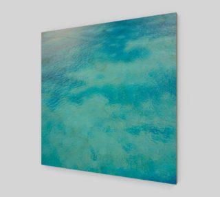 Aquatic Blues Canvas preview