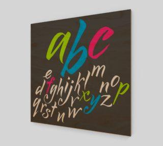 alphabet preview