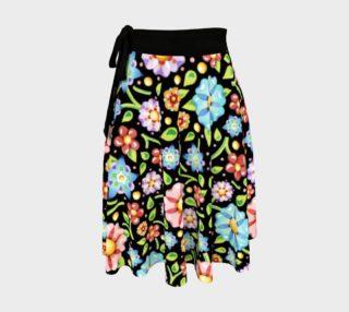 Aperçu de Flower Garden Circle Skirt