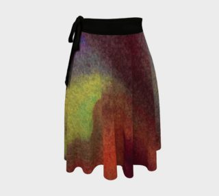 Watercolor Wrap Skirt preview