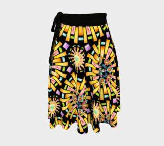 Aperçu de Firework Sorbet Circle Skirt
