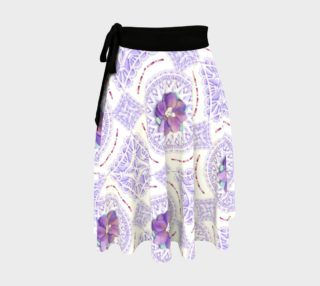 Victorian Violet Circle Skirt preview