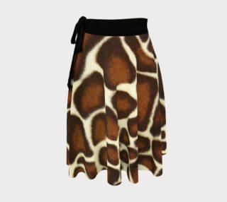 Giraffe Spots Wrap Skirt preview