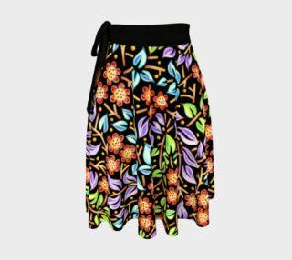 Aperçu de Filigree Floral Circle Skirt