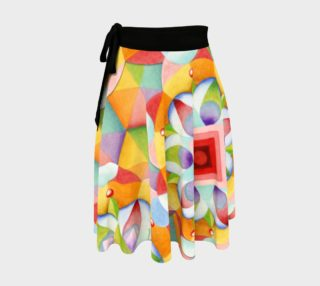 Aperçu de Big Big Top Mandala Circle Skirt