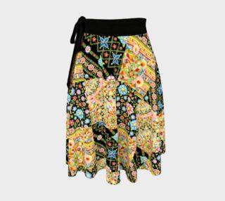 Aperçu de Crazy Printed Patchwork Circle Skirt