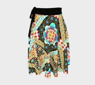 Aperçu de Crazy Modern Patchwork Circle Skirt