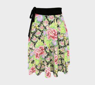 Aperçu de Kimono Chintz Circle Skirt