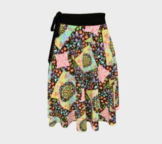 Aperçu de Filigree Floral Patchwork Circle Skirt
