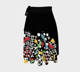 Ticker Tape Placement Circle Skirt preview