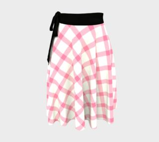 Pink and White Tartan preview