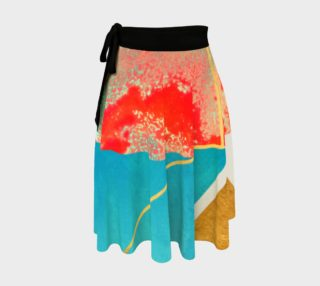 Earth & Sea Wrap Skirt preview
