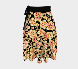 Candy Apple Blossom Circle Skirt preview