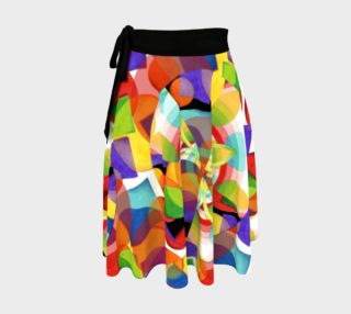 Prismatic Festival Circle Skirt preview