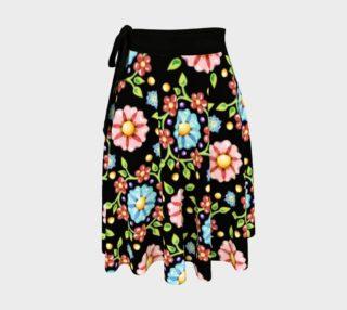 Aperçu de Daisy Pinwheel Circle Skirt