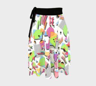 Aperçu de Retro 90s Circle Skirt