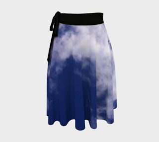 Pulled Cotton Clouds Wrap Skirt preview