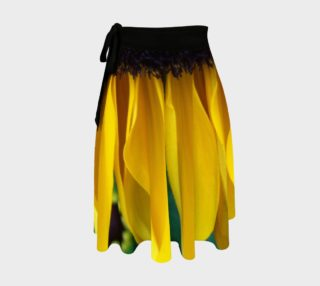 Looking Down the Black Eyed Susan Wrap Skirt preview