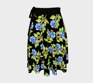 Aperçu de Blueberry Sprigs Circle Skirt