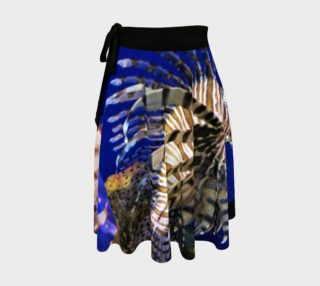 Lion Fish Wrap Skirt  preview