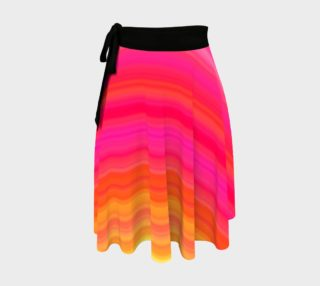 Raise Your Vibe Wrap Skirt preview