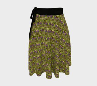 Aperçu de Arts and Crafts Rose Wrap Skirt