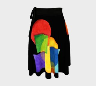 Candy Rainbow Circle Skirt preview