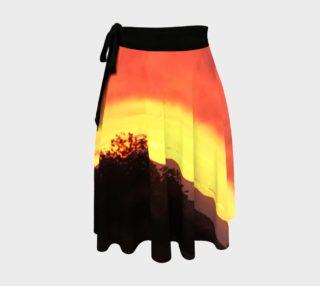 Santa Fe Sunset - Wrap Skirt preview