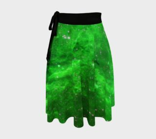 North America Nebula Infrared Green Enhanced Wrap Skirt, AOWSGD preview