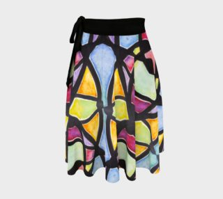 Metro Stained Glass Wrap Skirt preview