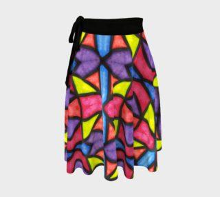 Celebration Mosaic  Wrap Skirt preview