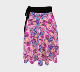 Pink Deco Wrap Skirt preview