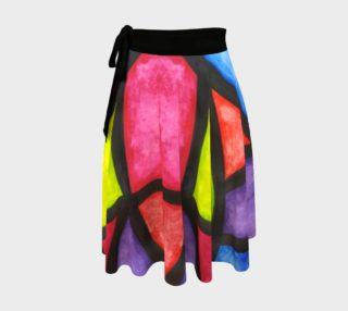 Celebration Mosaic II Wrap Skirt preview
