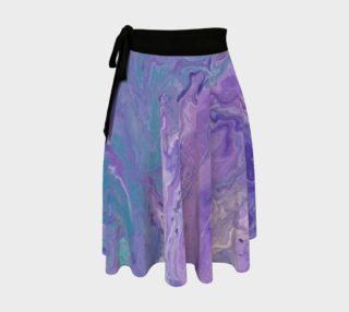 Lilac Ocean Wrap Skirt preview