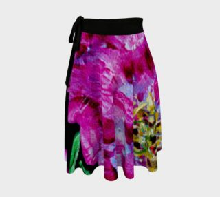Pink Peony Wrap Skirt preview