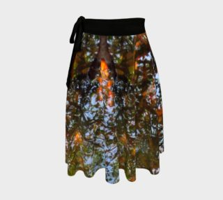 Ripple and Leaf Wrap Skirt preview