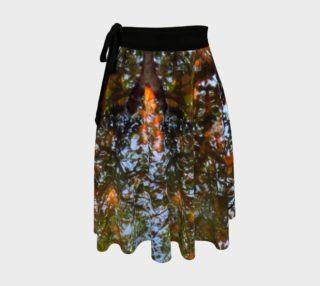 Aperçu de Ripple and Leaf Wrap Skirt