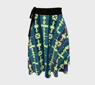 SW Salsa Plaid Wrap Skirt preview