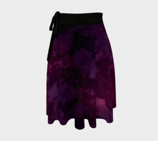 Aperçu de Purple Mage's Apprentice Galaxy Wrap Skirt