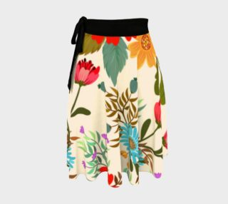 Gorgeous Colorful Floral Skirt preview