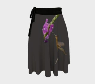 Aperçu de Reddish Hermit Wrap Skirt