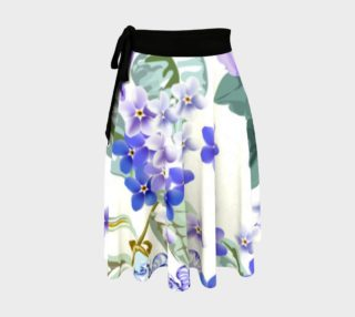 Lovely Lavender Floral Skirt preview