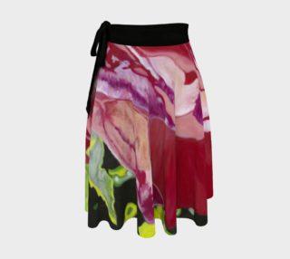 """My Funky Valentine"" Wrap Skirt preview"