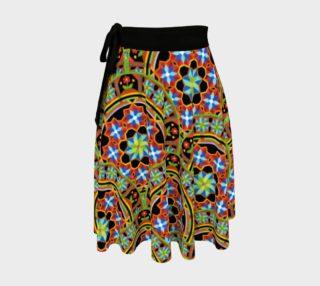 Aperçu de Westminster Mandala Circle Wrap Skirt