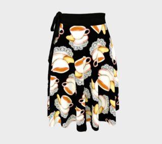 Aperçu de Kitschy Cuppa Circle Wrap Skirt