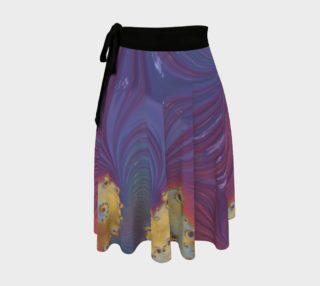 Nebulous Wrap Skirt preview
