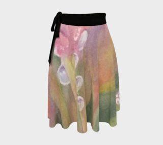 Pastel Dew Drops  Wrap Skirt preview
