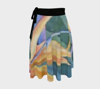 Bird of Paradise Wrap Skirt preview